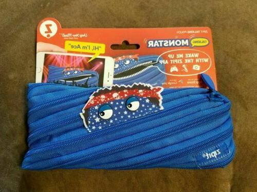Zipit Talking Monstar Monster Pencil Pouch - Wake Up with th