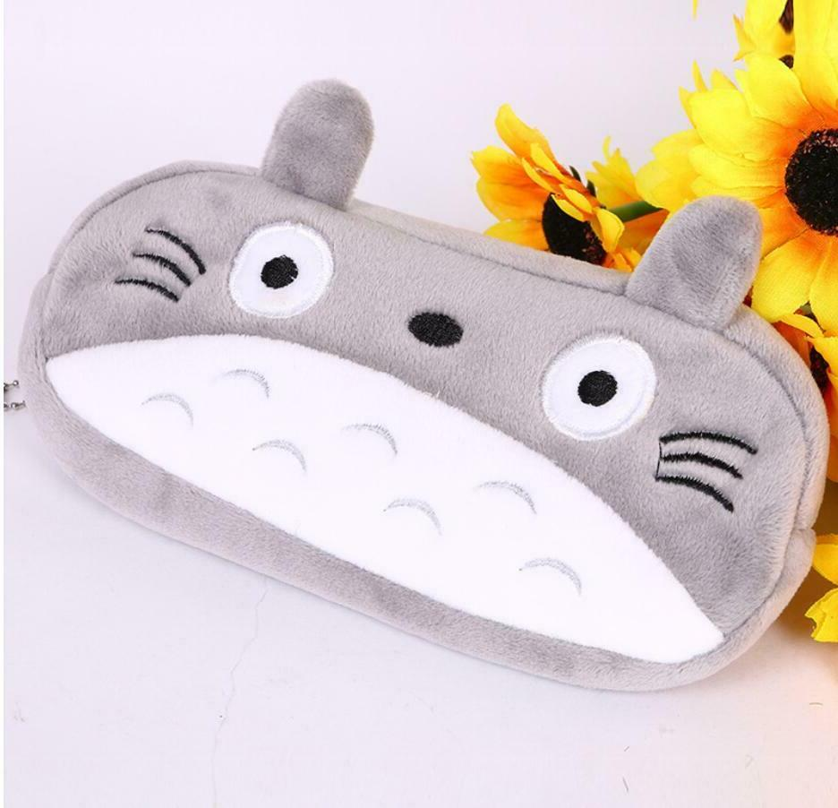 Totoro Pencil Case Cute Plush Pencil/Pen Bag Pouch