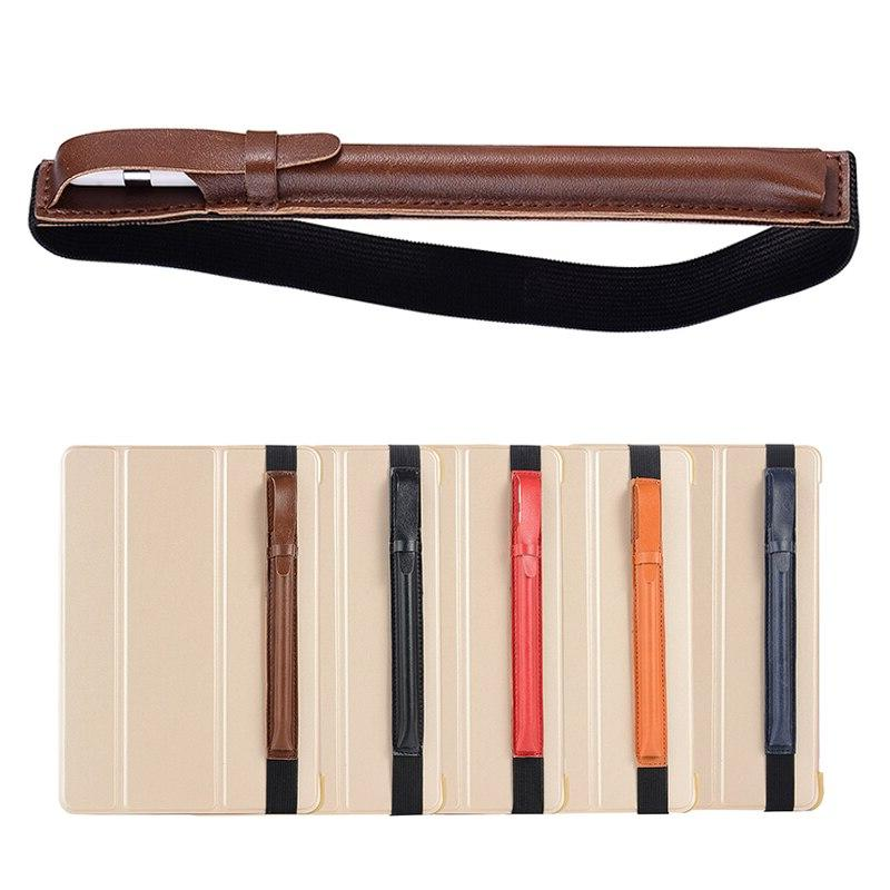 PU Leather <font><b>Sleeve</b></font> Pouch Holder For iPad Air 3 10.5 2019 9.7 Pro 12.9 4 <font><b>Pencil</b></font> Stylus