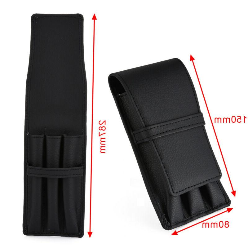 US Black PU Leather Case Pouch Holder For