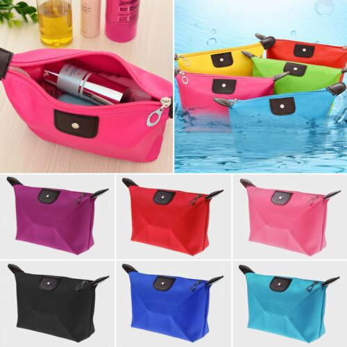 waterproof cosmetic makeup bag travel toiletry organizer