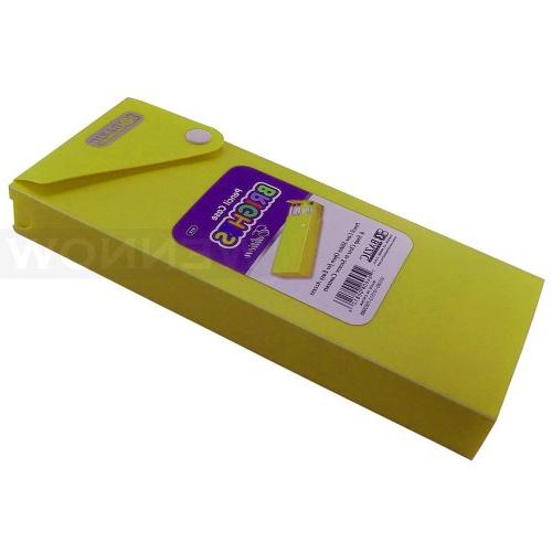 wennow yellow slider pencil case