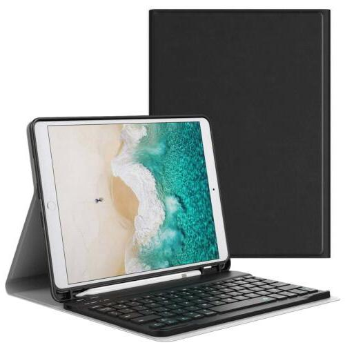 MoKo Wireless Keyboard Cover Stand Case for iPad Pro 10.5 Ap