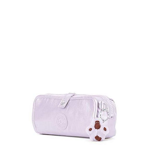 Kipling Wolfe Pouch One Frosted Lilac Metallic
