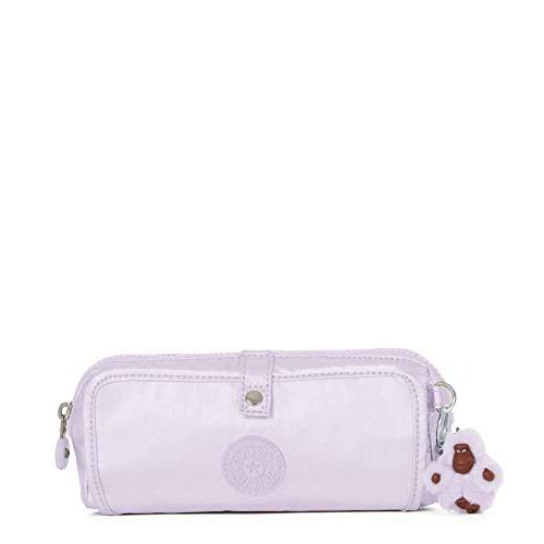 wolfe metallic pencil pouch one size frosted