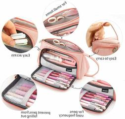 Large Capacity Pencil Case Pen Bag Pouch Holder for Student