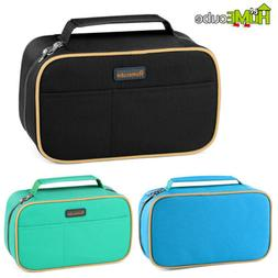 Homecube Big Capacity Pencil Case Brush Box Makeup Pouch Stu
