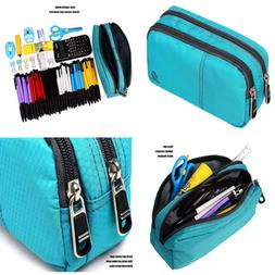 Large Pencil Case Office Supplies Durable Student Pen Holder