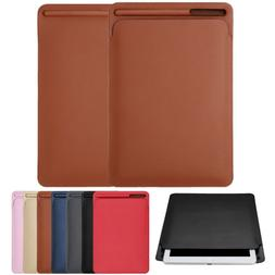 Leather Sleeve Case Cover Pouch Skin for Apple Pencil & iPad