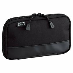 LIHIT LAB. Compact Pen Case , Water & Stain Repellent, Black