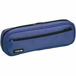 LIHIT LAB Pen Case, 9.4 X 1.8 3 Inches, Blue  Office Product
