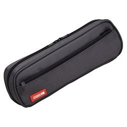 Lihit Lab Pen Case, 9.4 X 1.8 X 3 Inches, Black  *New*