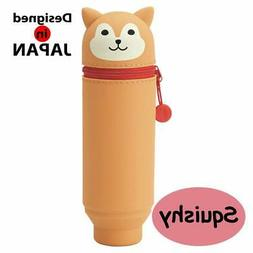 "LIHIT LAB. PuniLabo Stand Up Pen Case , Dog, 2.4"" x 7.8"""