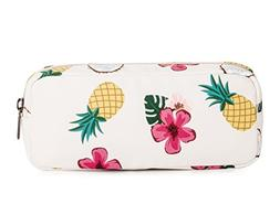 Leaper Pineapple Pen Pencil Case Coin Purse Pouch Cosmetic M