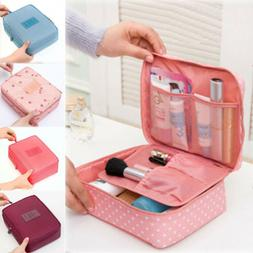 Makeup Zipper Pouch Pencil Pen Case Cosmetic Bag Toiletry Wa