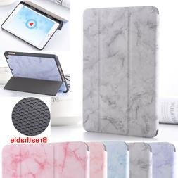 """Marble Shockproof Pencil Holder Case Cover For iPad 10.2"""" 20"""