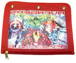 Marvel Avengers Assemble Binder Pencil Case ~ The Incredible
