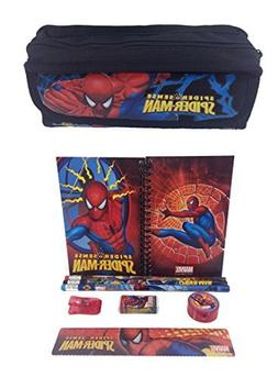 Marvel Spiderman Combo Stationary Set + Pencil Pouch