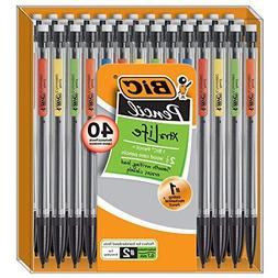 BIC Xtra-Life Mechanical Pencil, Medium Point , 40-Count