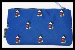 Mickey AOP Pencil Case BLUE One Size Art & Craft Supply