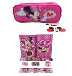 Disney Minnie Mouse Combo Stationary Set + Pencil Pouch