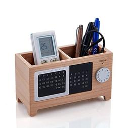 iSuperb Transformer Stand Store Pencil Holder Canvas+PU Cart