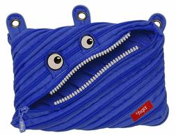 Zipit Monster 3 Ring Binder Pouch Royal Blue