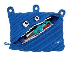 monster 3 ring pouch pencil case in