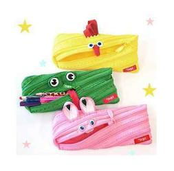 Zipit Monster Pen Pencil Case Cosmetic Pouch - Animal Editio