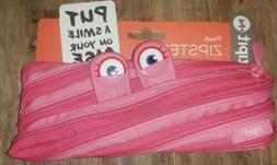 Zipit Monster Pen Pencil Case Cosmetic Pouch Hot Pink