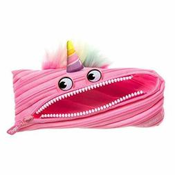 New 2019Kids  Peal  Style  ZIPIT  Monster Pencil Case School
