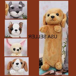 "NEW PLUSH DOG"" Pencil Bag ,Pencil Case ,Cosmetic Coin Bags H"