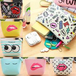 New Women Toiletry Bag Wallet Holder Coin Purse Small Handba