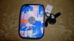 NWT Kipling 100 PENS Pencil Case PRINTED PRISM COMBO