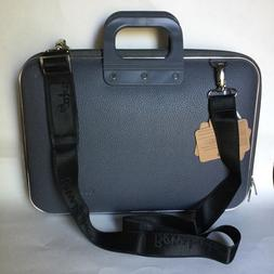 NWT Bombata Firenze Classic 15-Inch Briefcase Charcoal