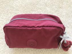NWT Kipling Gleam Cosmetics Case pencil case in Brick Red $2