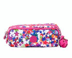 NWT Kipling Gustavo Pencil Case Pouch Makeup Cosmetic Travel