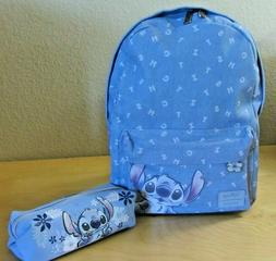 NWT Loungefly Lilo and Stitch Denim Backpack with Non Lounge