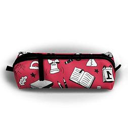YesFutureIs Female Oxford Cloth Stationery Bag Cute School S