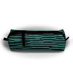 Oxford Cloth Stationery Bag Cute Striped Pattern Portable St