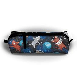 YesFutureIs Female Oxford Cloth Stationery Bag Galaxy Space