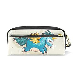 ColourLife Pen Bags Pencil Case Unicorn Find Your Happy Plac