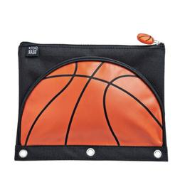 Pen + Gear FOOTBALL BASKETBALL 3 Ring Binder Pencil Case Pou