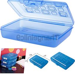 Sterilite Pencil Box with Splash Tint Lid