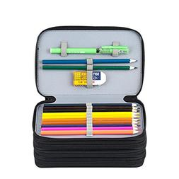 Kaleidoario Pencil Bag, Large Pen Organizer Case Colored Pen