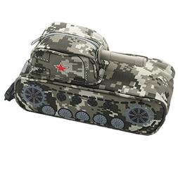 Pencil Bag with Password Lock, Camouflage Tank Pencil Case P