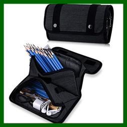 Pencil Case, Big Capacity Pencil Bag for Student Office Coll