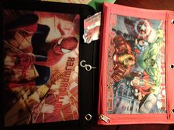 Marvel Avengers Assemble Pencil case for 3 ring binder noteb