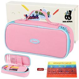 E4go Pencil Case - Large Capacity Pencil Bag With Zipper And
