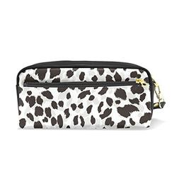 ColourLife Pencil Case Abstract Black Grey Print Pouch Bag M